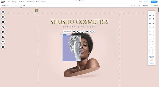 Wix Website Builder Screenshot