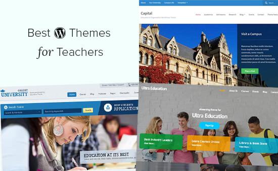 Best WordPress Education Themes for Teachers