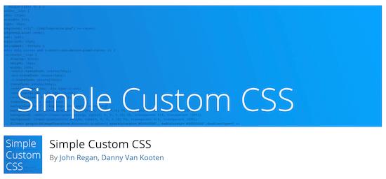 Simple custom CSS Jetpack alternative