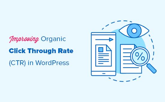 Improving organic click through rate CTR in WordPress