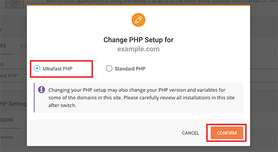 Select Ultrafast PHP