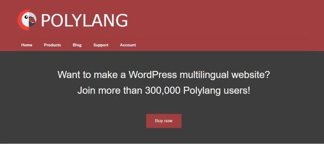 polylang multi language WordPress Plugin