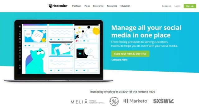 HootSuite marketing automation tools