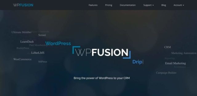 WP Fusion Lite marketing automation tool