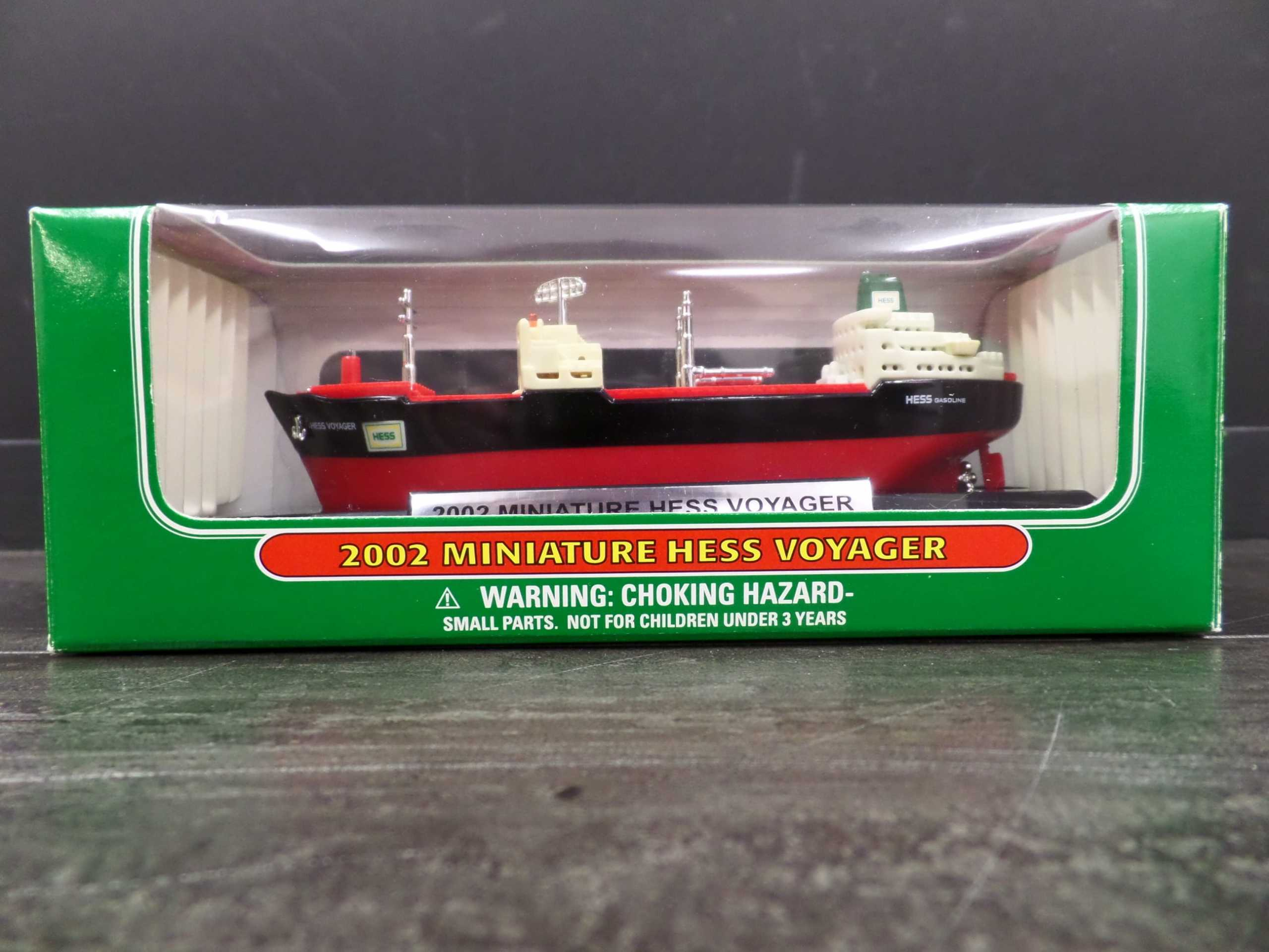 2002 MINI HESS VOYAGER SHIP <br/> Donated by: WPBS SUPPORTER <br/> Buy It Now: $15