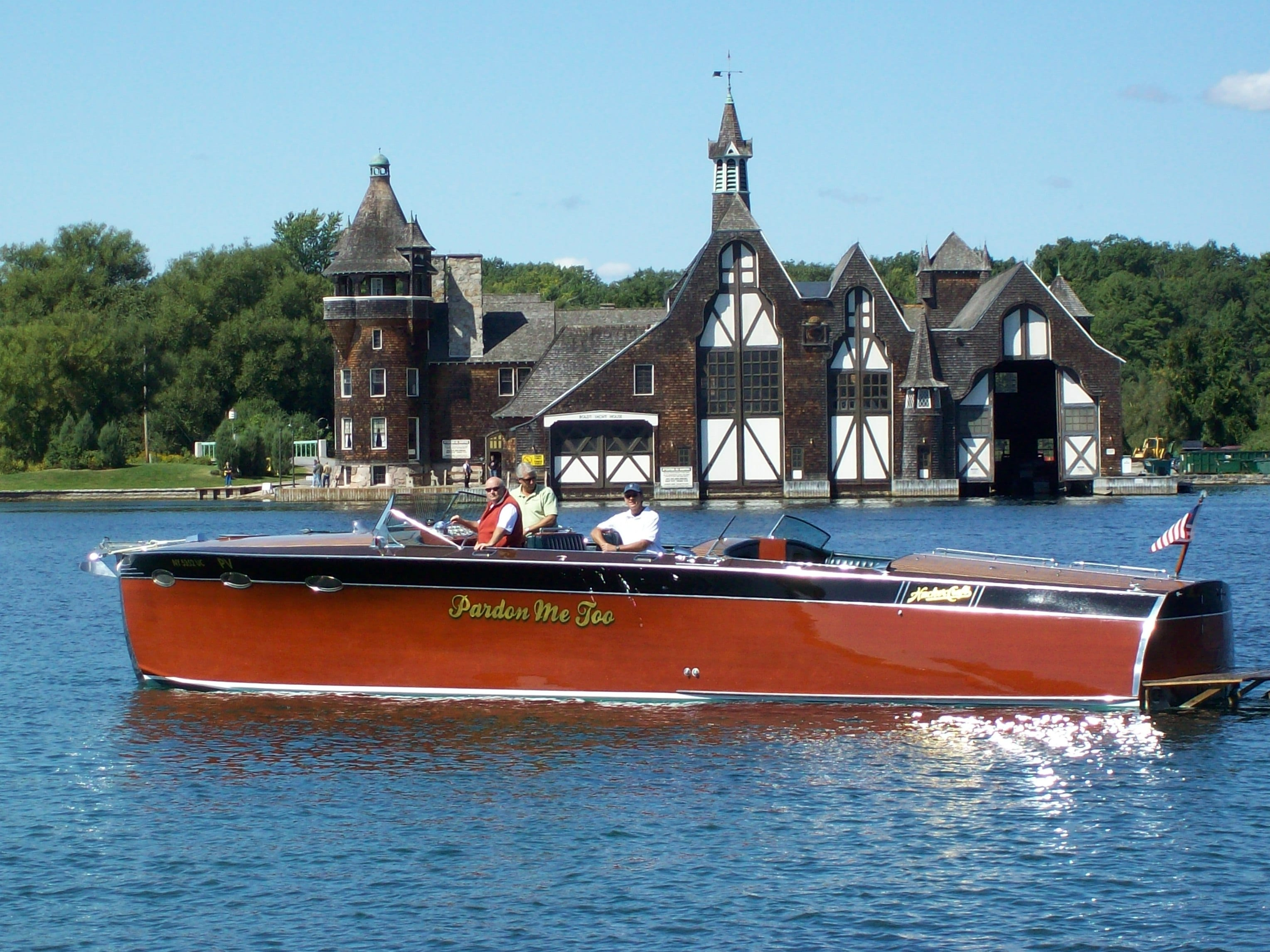 CHAMPAGNE CRUISE FOR 6 <br/> Donated by: ANTIQUE BOAT AMERICA <br/> Valued at: $1,050