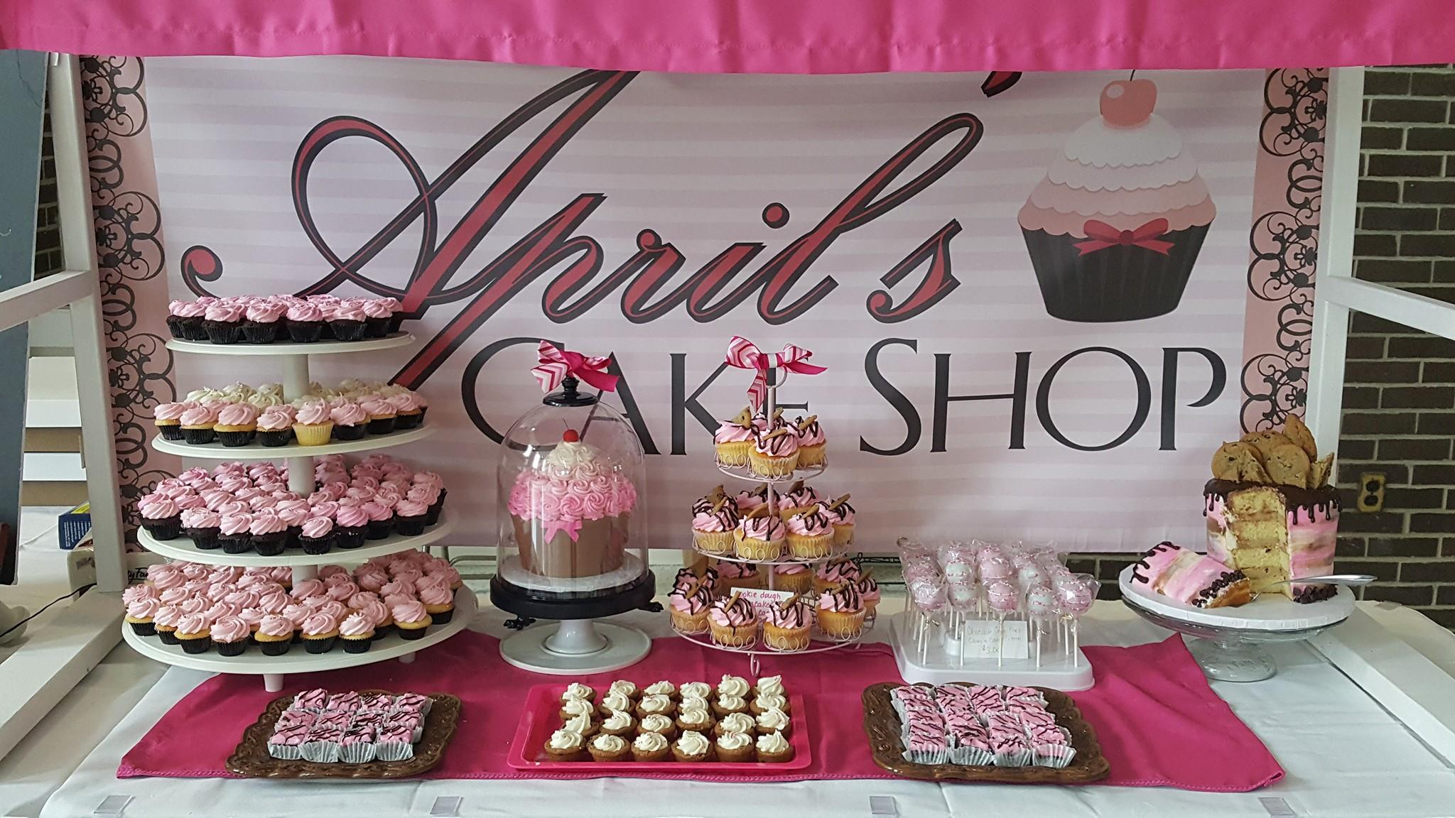 GIFT CERTIFICATE <br/> Donated by: APRIL'S CAKE SHOP <br/> Valued at: $50