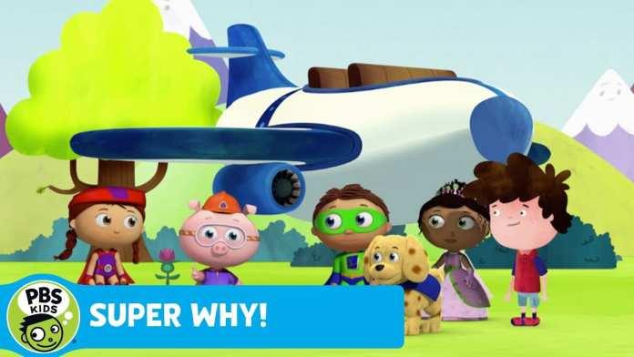 SUPER WHY!   Alpha Pig Builds a Jet   PBS KIDS