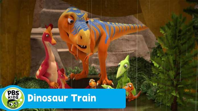 DINOSAUR TRAIN  | Dad's Day Out | PBS KIDS