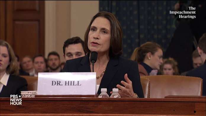 WATCH: Hill says Sondland was engaged in a 'domestic political errand' | Trump impeachment hearings