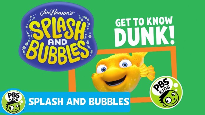 SPLASH AND BUBBLES | Meet Dunk! | PBS KIDS