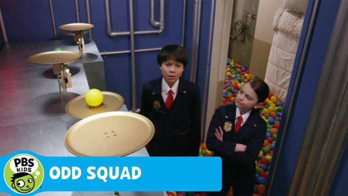 ODD SQUAD   Ball Pit Pan Balance   PBS KIDS
