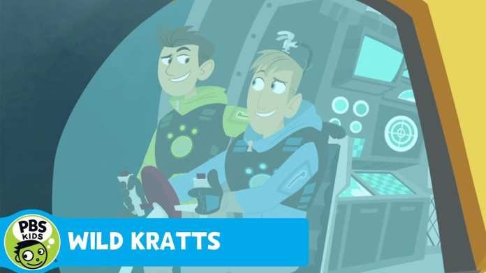 WILD KRATTS | Rainbow Trout in Winter | PBS KIDS