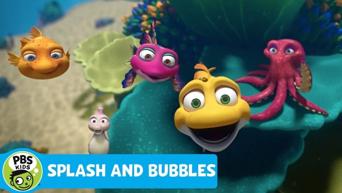 SPLASH AND BUBBLES | Theme Song | PBS KIDS