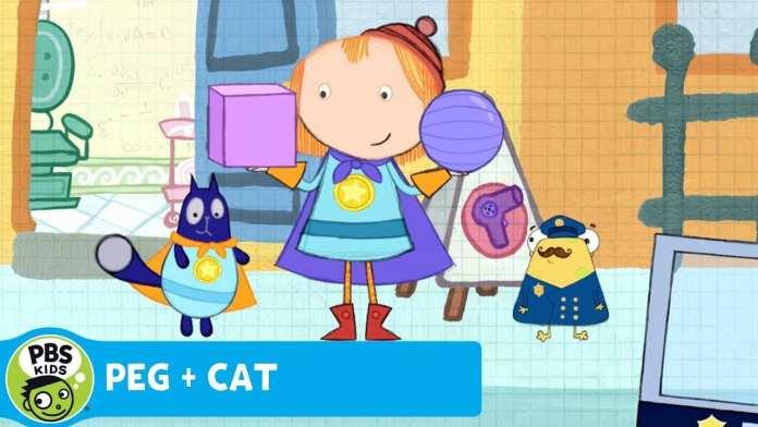 PEG + CAT   Flat Woman   PBS KIDS