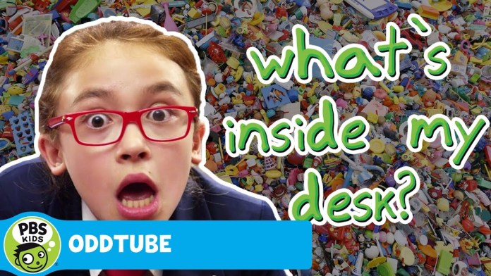 ODDTUBE | What's Inside My Desk? | PBS KIDS