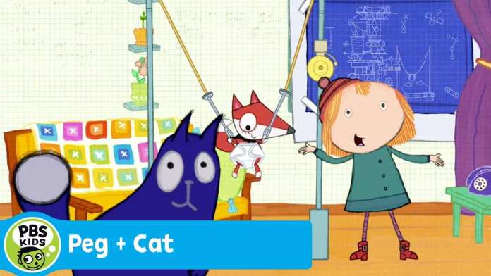 PEG + CAT | Baby Fox's Big Machine (Song) | PBS KIDS