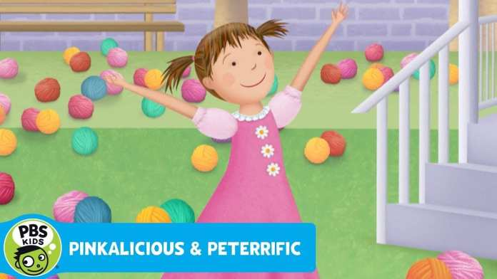PINKALICIOUS & PETERRIFIC | Too Much Yarn in the Yard! | PBS KIDS