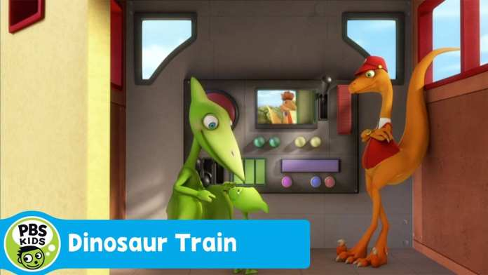 DINOSAUR TRAIN | The Dinosaur Train Race Begins | PBS KIDS