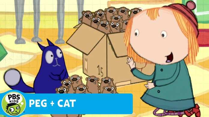 PEG + CAT | Counting and Dividing Gophers | PBS KIDS