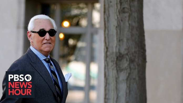 Was convicted Roger Stone using trial to appeal to Trump?
