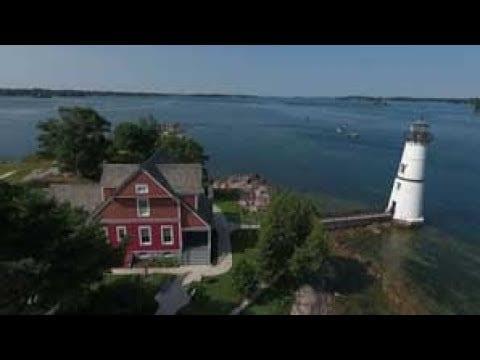 Rock Island Lighthouse | Park It! Explore the Outdoors | WPBS Short Flix