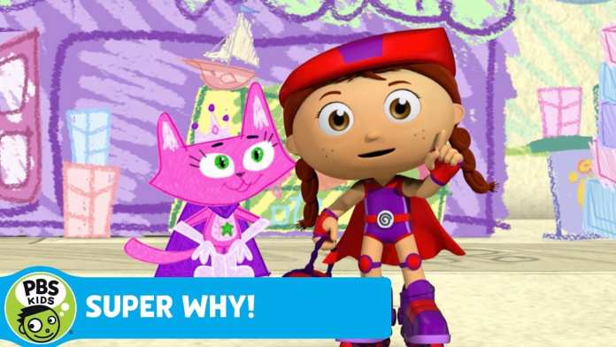 SUPER WHY! | Wonder Red & Miss Meow Find a Note | PBS KIDS