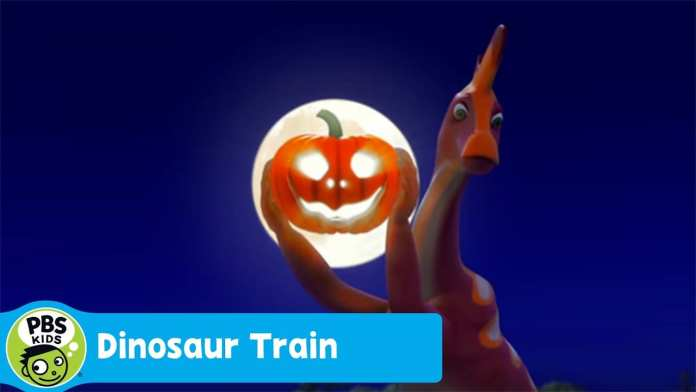 DINOSAUR TRAIN | Carving Pumpkin | PBS KIDS