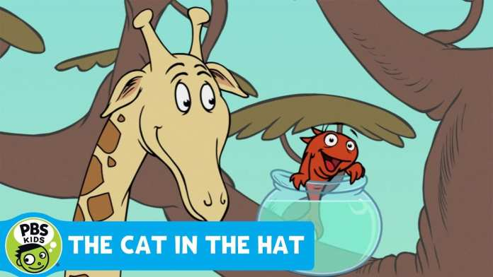 THE CAT IN THE HAT | Fish Facts: Giraffes | PBS KIDS