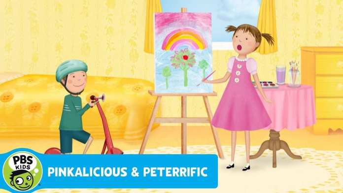 PINKALICIOUS & PETERRIFIC   Peter's Scooter Song   PBS KIDS
