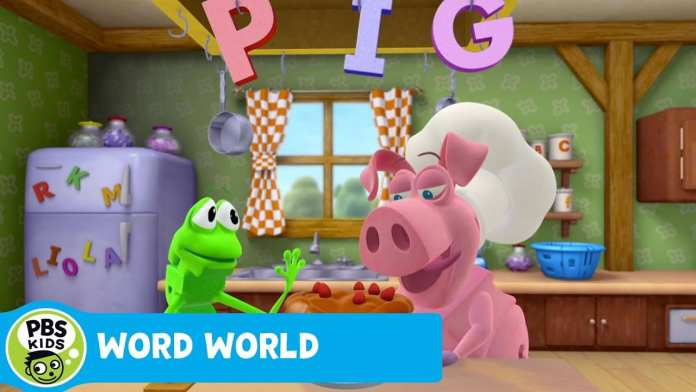 WORD WORLD | Pig Takes the Cake | PBS KIDS