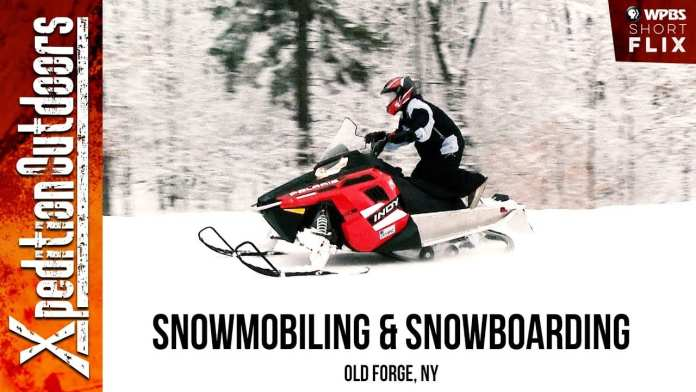 Snowmobiling & Snowboarding   Xpedition Outdoors   WPBS Short Flix