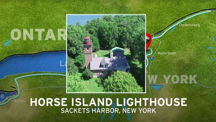 Horse Island Lighthouse | New York's Seaway Lighthouses