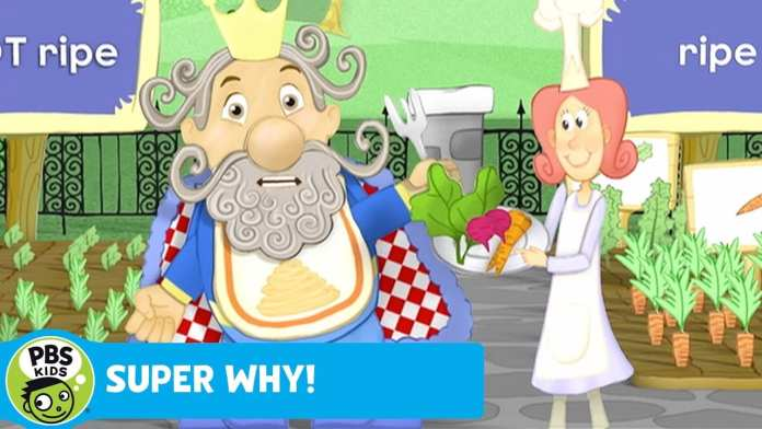 SUPER WHY | Veggie Time for King Eddie | PBS KIDS