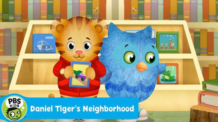 DANIEL TIGER'S NEIGHBORHOOD | So Many Books at the Library | PBS KIDS