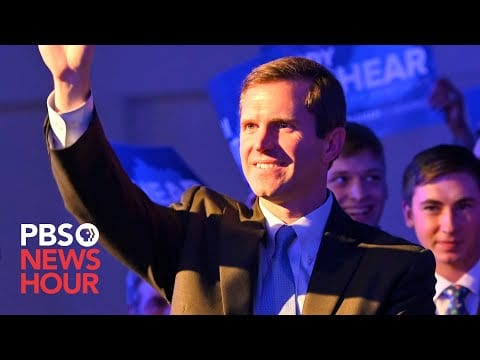 WATCH LIVE: Kentucky's Andy Beshear speaks after declaring victory in gubernatorial race