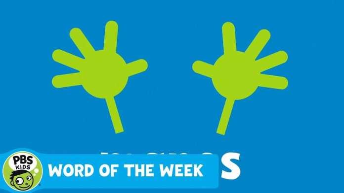 WORD OF THE WEEK | Manos | PBS KIDS