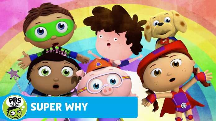 SUPER WHY!   The Rainbow Song   PBS KIDS