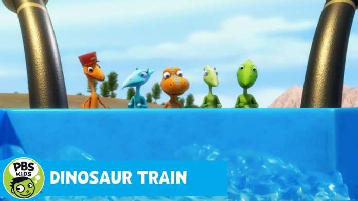 DINOSAUR TRAIN | The Riverboat Queen's Upper Deck | PBS KIDS