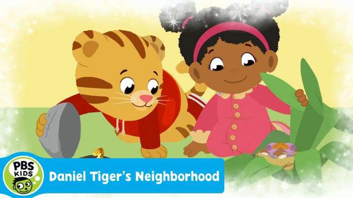 DANIEL TIGER'S NEIGHBORHOOD | Let's Go Outside (Song) | PBS KIDS