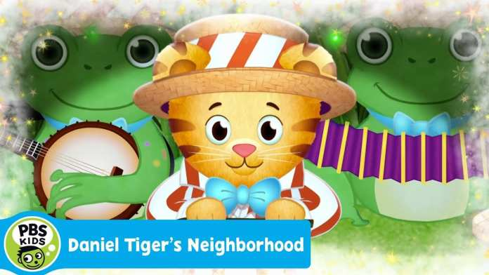 DANIEL TIGER'S NEIGHBORHOOD | I'm Singing with the Frogs (Song) | PBS KIDS