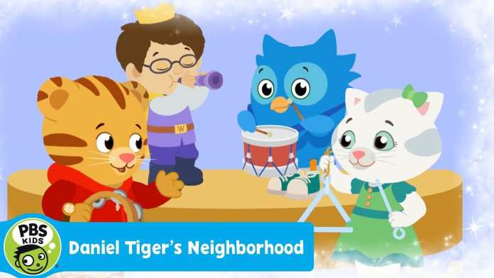 "DANIEL TIGER'S NEIGHBORHOOD | ""Sharing is Fun for Me Too"" song 