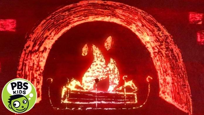 🔥✏️Relaxing Fireplace Sketch! | PBS KIDS