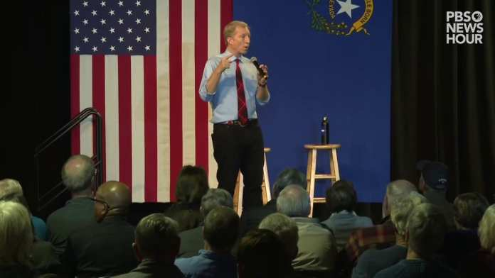 WATCH: Tom Steyer speaks after New Hampshire primary