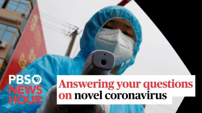 WATCH LIVE: NewsHour answers your questions on novel coronavirus