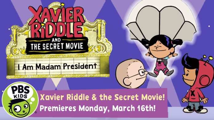 Xavier Riddle and the Secret Movie | I Am Madam President! | PBS KIDS