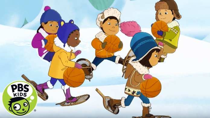 Molly of Denali | Playing Basketball on Snow! | PBS KIDS