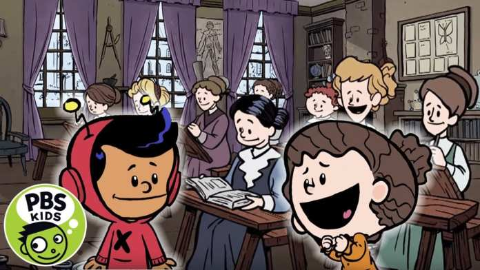 Xavier Riddle and the Secret Museum | A Secret School for Girls! | PBS KIDS