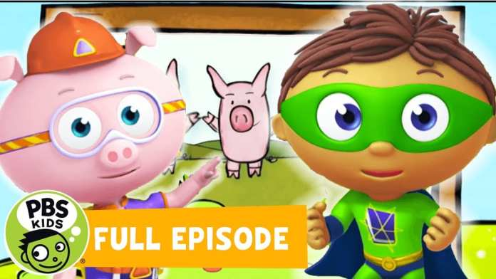 Super Why FULL EPISODE | The Three Little Pigs | PBS KIDS