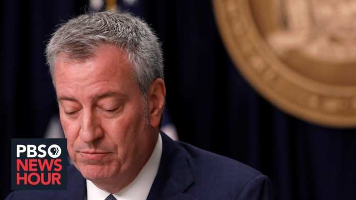 WATCH LIVE: New York Mayor Bill de Blasio gives coronavirus update — April 22, 2020